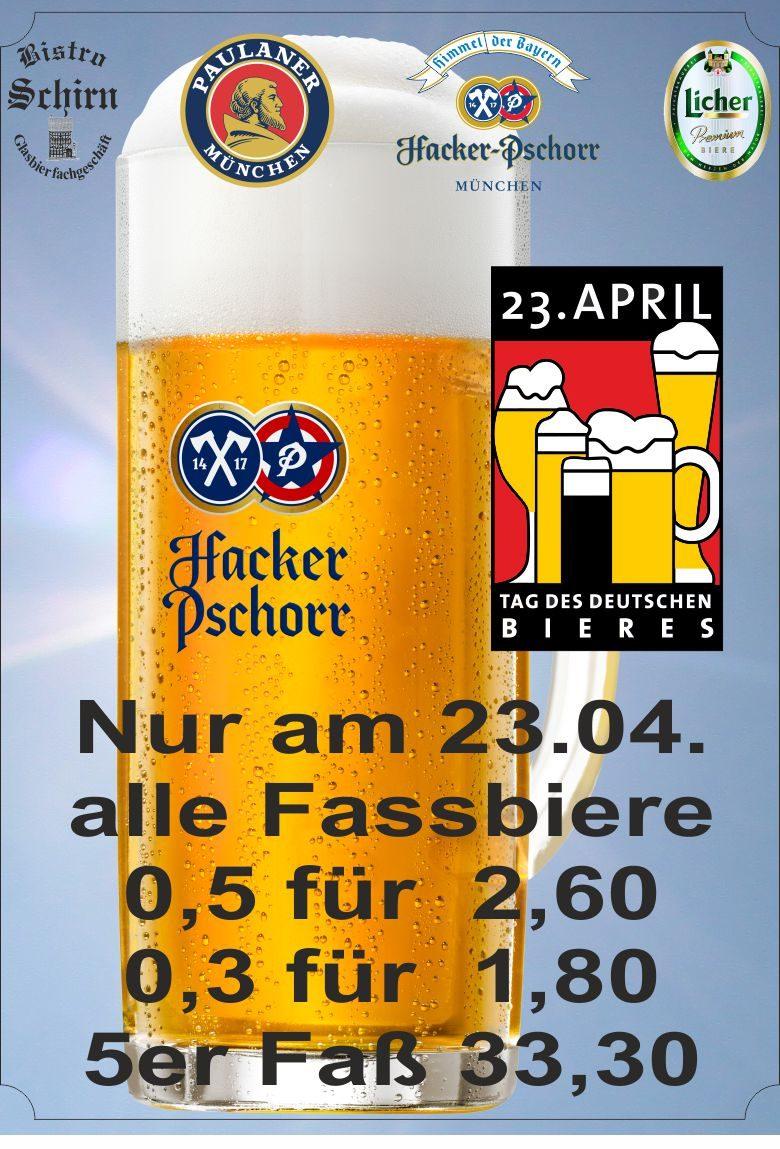 Tag des Deutschen Bieres 2018