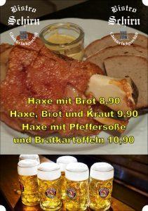 Grillhaxe Oktoberfest Bier